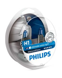 Philips Diamond Vision H1 σετ λάμπες 12v/55w