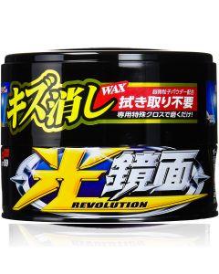 SOFT99 Revolution Scratch Clear Wax Dark 200 g MADE IN JAPAN 00420