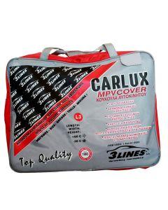 CARLUX L3 5,20×1,87×1,45m Κουκούλα αυτοκινήτου αδιάβροχη-αντηλιακή-αντιπαγωτική προστασία-μαλακή εσωτερική επένδυση-άριστη ποιότητα.