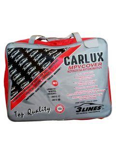 CARLUX M3 4,55x1,75x1,50 Κουκούλα αυτοκινήτου αδιάβροχη-αντηλιακή-αντιπαγωτική προστασία-μαλακή εσωτερική επένδυση-άριστη ποιότητα.