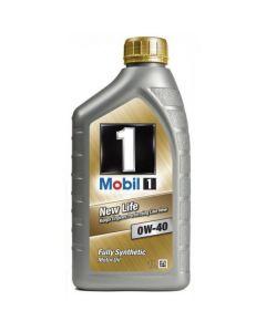 Λάδι Αυτοκινήτου Mobil 1 0W40 New Life 1L