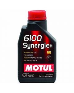 ΛΑΔΙ ΑΥΤΟΚΙΝΗΤΟΥ MOTUL 6100 SYNERGIE+ 10W40 Technosynthese 1lt 100%
