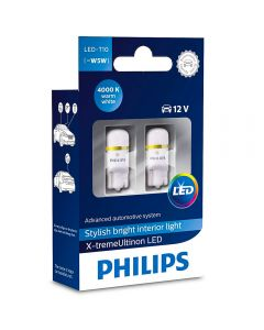 Philips LED X-tremeUltinon 4000K T10 12V PH127994000KX2