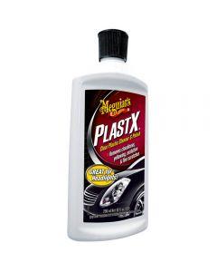 MEGUIAR'S PLASTX ΚΑΘΑΡΙΣΤΙΚΗ ΚΡΕΜΑ ΦΑΝΩΝ ΑΥΤΟΚΙΝΗΤΟΥ 296ml PlastX™ Clear Plastic Cleaner & Polish