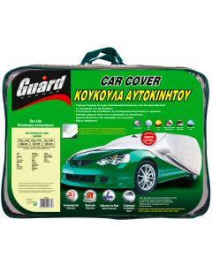 Κουκούλα αυτοκινήτου GUARD H/B LARGE  αδιάβροχη-αντηλιακή-αντιπαγωτική προστασία-μαλακή εσωτερική επένδυση-άριστη ποιότητα.