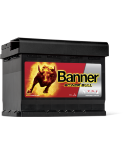 Μπαταρία BANNER POWER BULL 62Ah 550A P6219