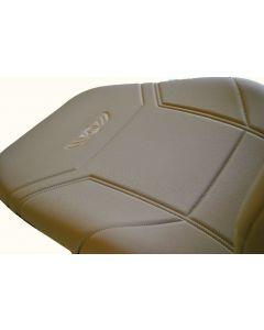 Ημικαλύμματα καθισμάτων πρεσαριστό.Ζευγάρι μπεζ άριστη ποιότητα MADE IN GREECE