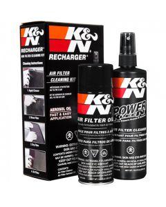 K&N Air Filter Recharger kit ΣET ΚΑΘΑΡΙΣΤΙΚΟ ΚΑΙ ΛΑΔΙ