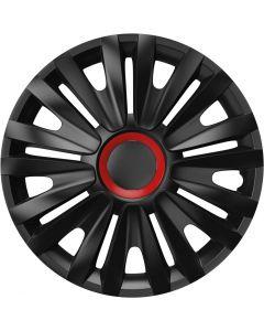 Τάσια Versaco ROYAL RR BLACK CBX 15'' σετ 4τμχ