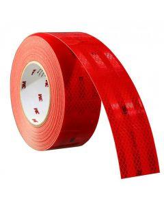 3M Κόκκινη αντανακλαστική ταινία σήμανσης 55mm x 1m 983-72
