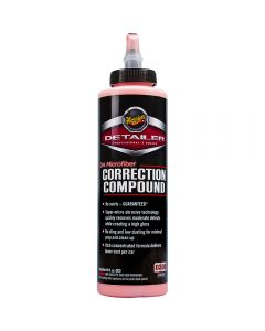 MEGUIAR'S D30016-DA Microfiber Correction Compound, 16 oz